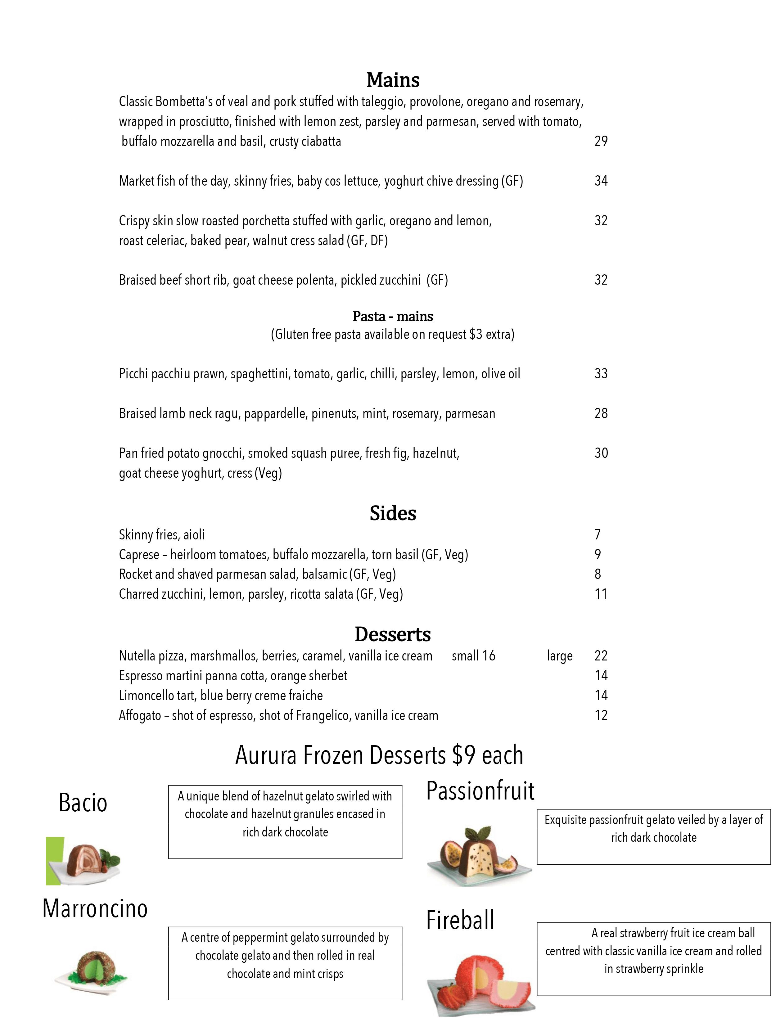 Bombetta Italian Restaurant Menu 02 (1)