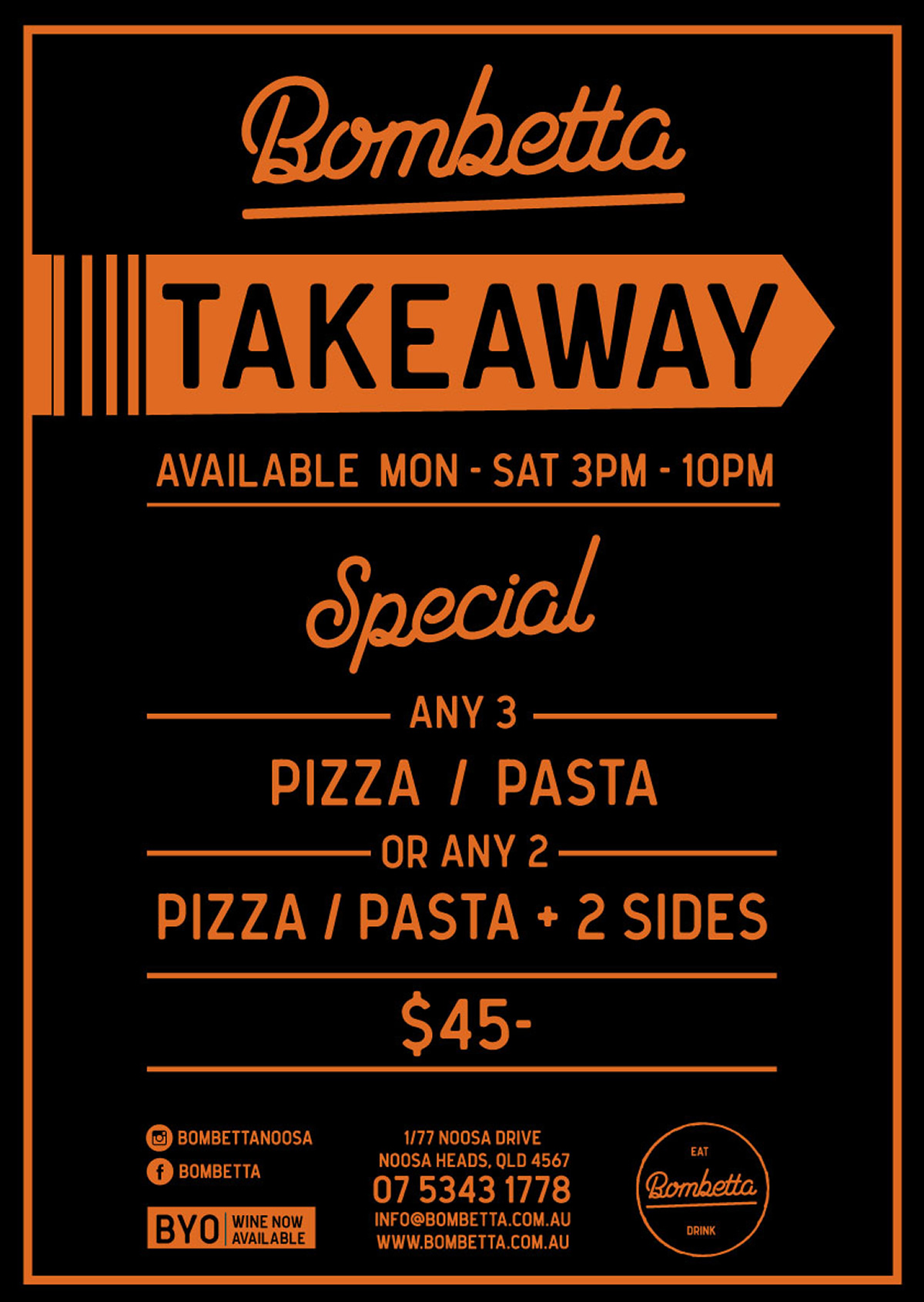 Takeaway Special 2019 02 15