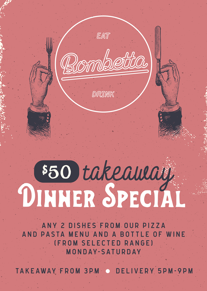 50 Takeaway Dinner Special 2020 03 24