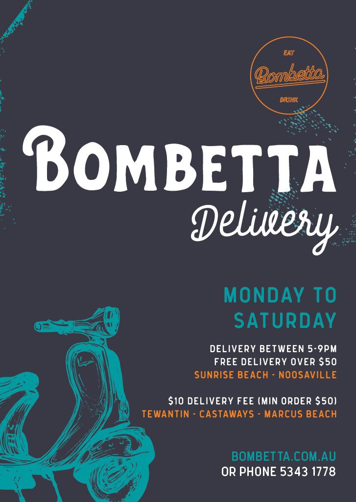 Bombetta Delivery 2020 05 13