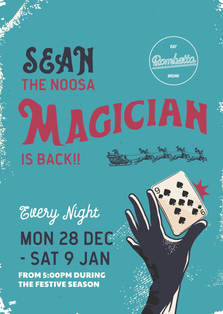 Sean Magician 2020 11 05