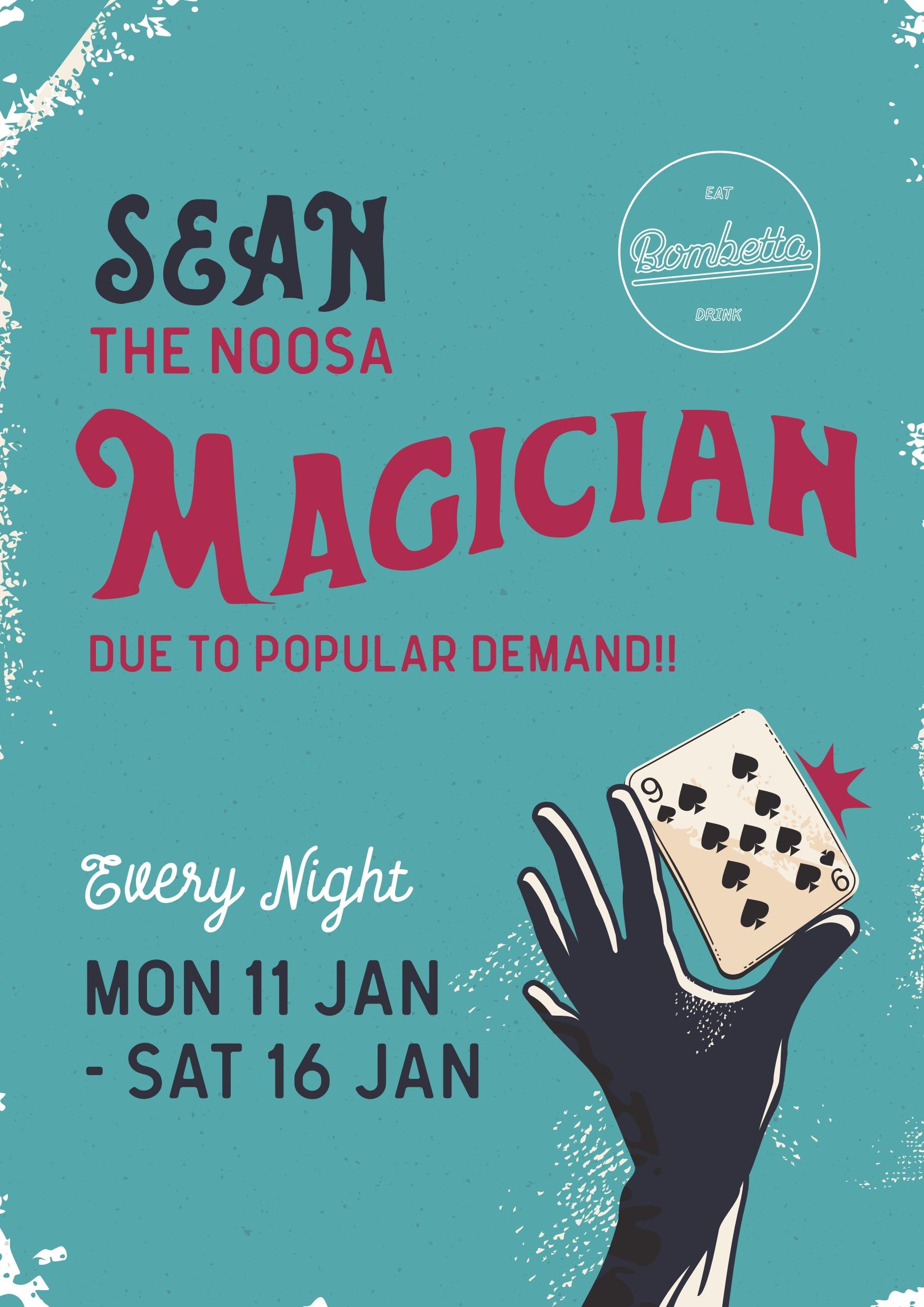 Sean Magician 2021 01 08