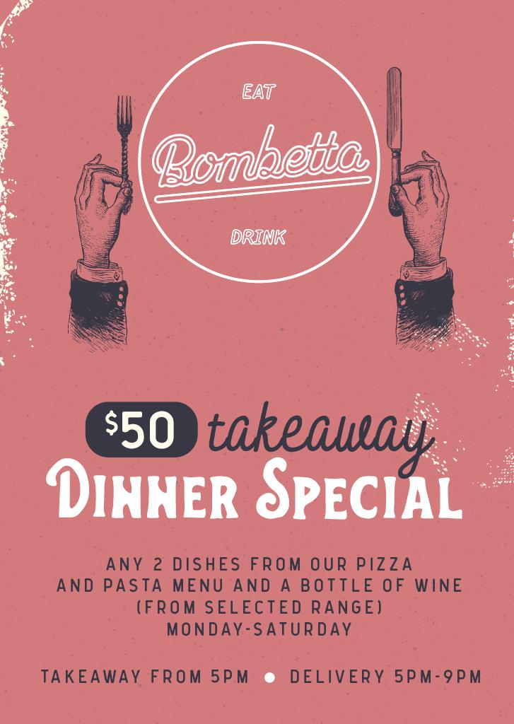 50 Takeaway Dinner Special 2021 08 09