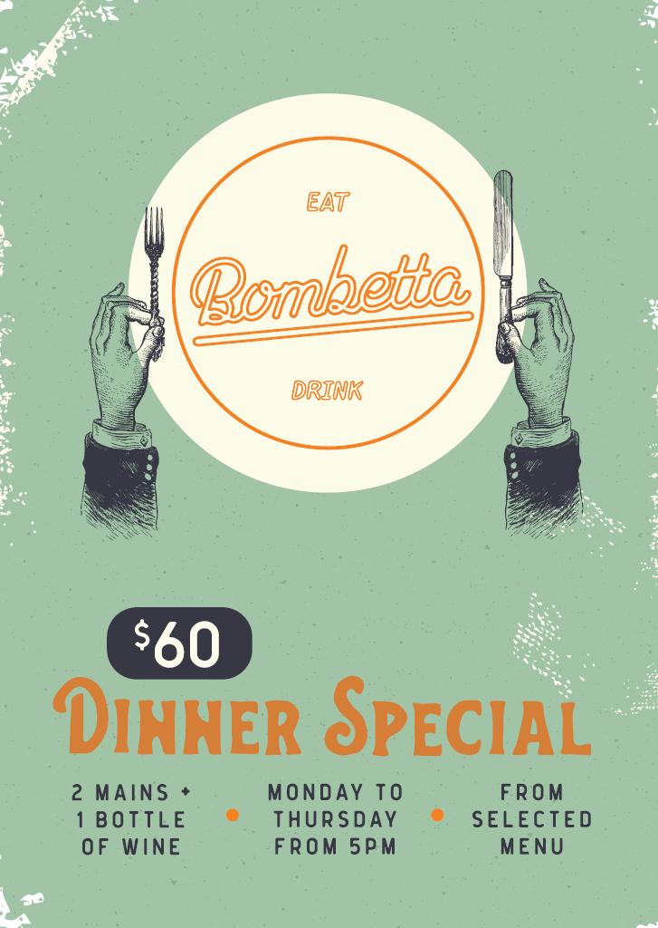60 Dinner Special 2021 08 09